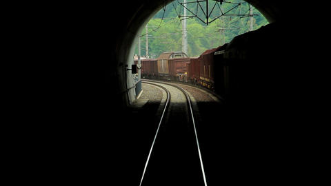 Railroad Stock Video Footage