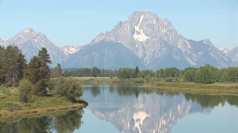 Grand Teton National Park Stock Video Footage