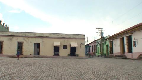 Plaza San Juan de Dios panshot Footage