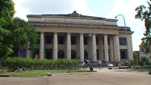 University of Camagüey Stock Video Footage