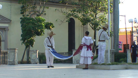 War of Independence flag ceremony Stock Video Footage