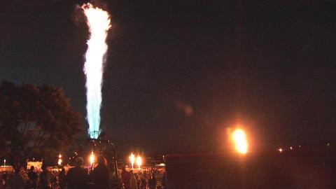 Hot air balloon festival Stock Video Footage