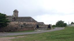 Cienfuegos Castillo de Jagua fortress Stock Video Footage