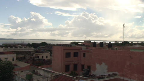 Cienfuegos overview of the city Footage