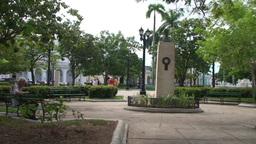 Cienfuegos Park José Martí panshot Footage