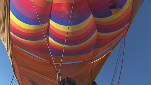 Hot air balloon Stock Video Footage