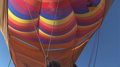 Hot air balloon Stock Video Footage