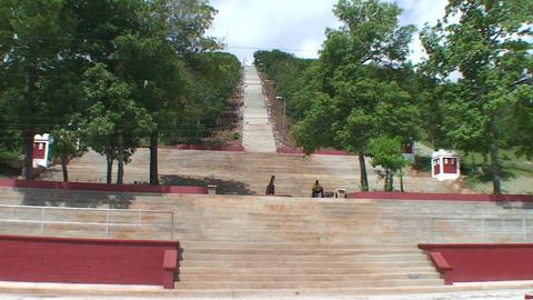 La Loma de la Cruz zoom out Footage
