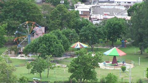 old fairground Stock Video Footage