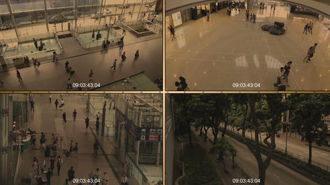 cctv 7 Stock Video Footage