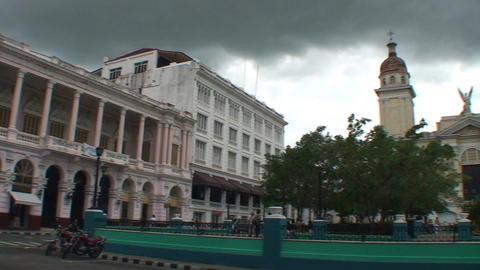 Catedral de Nuestra Senora de la Asunción, overvi Stock Video Footage