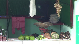 Streetview foodstall close up Stock Video Footage