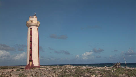 Lighthouse on Bonaire Footage