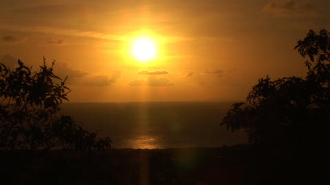Sunset on Bonaire Footage