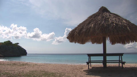 Caribbean beach Stock Video Footage