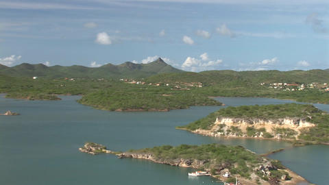 Bay on Curacao Stock Video Footage