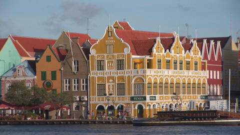 Willemstad, Curacao Stock Video Footage