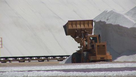 Salt mining Stock Video Footage