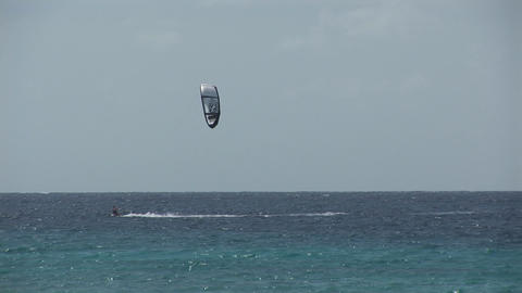 Kite surfing Stock Video Footage