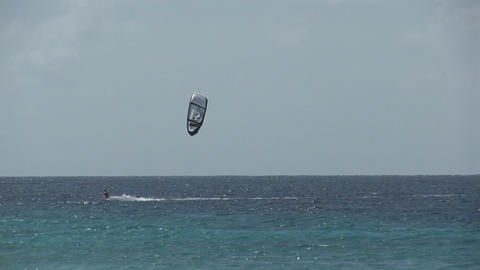 Kite surfing Footage