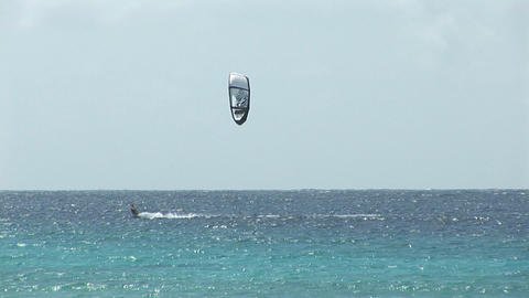 Kitesurfer highspeed Footage
