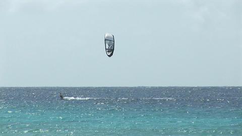 Kitesurfer highspeed Footage