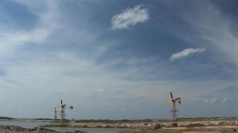 Windmills Stock Video Footage