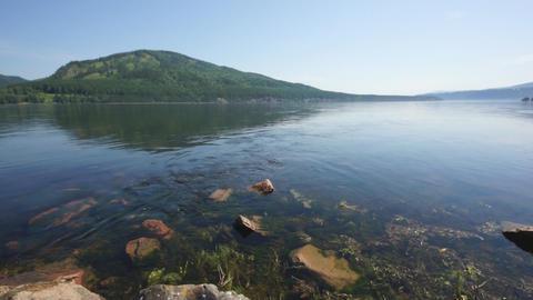 Siberian River Yenisei 04 Footage
