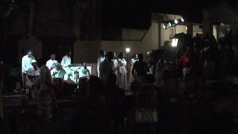 Trinidad Bigband at Casa de la Música Stock Video Footage
