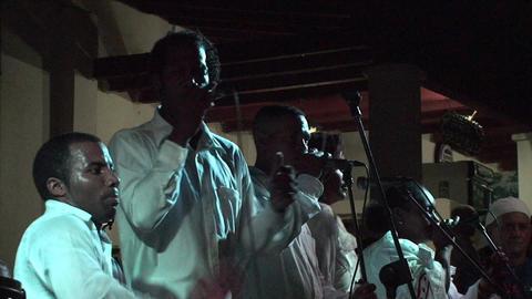 Trinidad Bigband at Casa de la Música 3 Stock Video Footage
