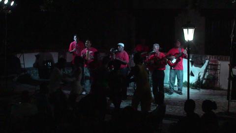 Trinidad Bigband at Casa de la Música 5 Stock Video Footage