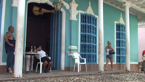 Trinidad Casa de la Trova Stock Video Footage