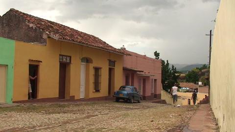 Trinidad Streetview oldtimer 4 Footage