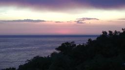 Trinidad sunset at playa Ancón timelapse Stock Video Footage