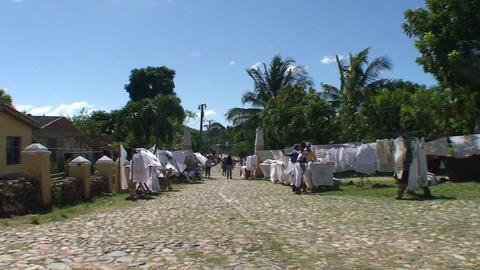 Valle de los Ingenios Manaca Iznaga tower market 2 Footage