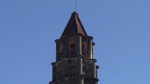 Valle de los Ingenios Manaca Iznaga tower tilt dow Stock Video Footage