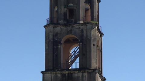 Valle de los Ingenios Manaca Iznaga tower tilt dow Footage