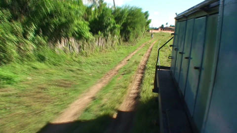Valle de los Ingenios train view from the train 2 Footage