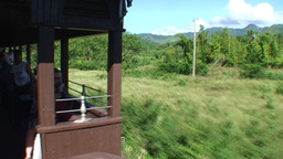 Valle de los Ingenios train view from the train 4 Stock Video Footage