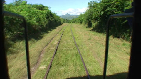 Valle de los Ingenios train view from the train 6 Stock Video Footage