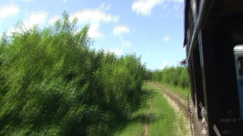 Valle de los Ingenios train view from the train 10 Footage