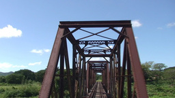 Valle de los Ingenios train view from the train br Stock Video Footage