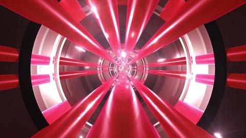Tunnel tube metal A 02n 2 HD Stock Video Footage