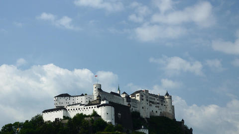 Salzbruck fortress Stock Video Footage