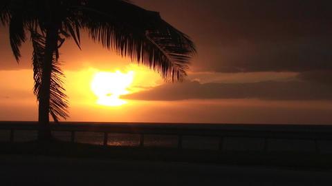 Cuba Sunrise street Stock Video Footage