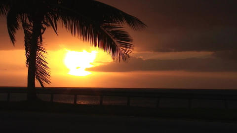 Cuba Sunrise street Stock Video Footage