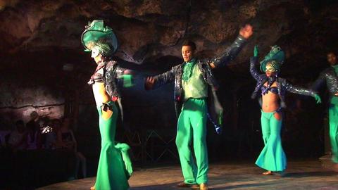 Cuba Varadero Cabaret Cueva del Pirata 3 No Sound Footage