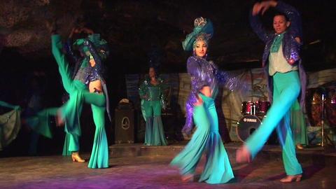 Cuba Varadero Cabaret Cueva del Pirata 5 No Sound Footage