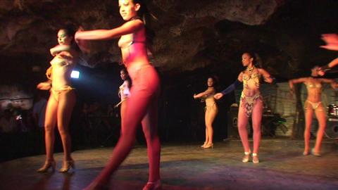 Cuba Varadero Cabaret Cueva del Pirata 11 Footage