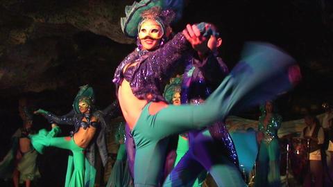 Cuba Varadero Cabaret Cueva del Pirata No Sound Footage